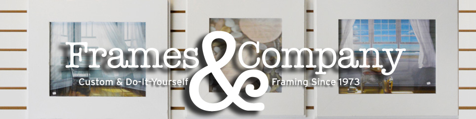 Frames and Company: Do-It-Yourself Framing